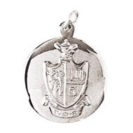 Polished Charm with Crest