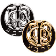Polished Plain Badge