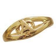 Loyalty Monogram Ring
