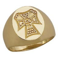Badge Replica Signet Ring