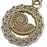 25 Year Nautilus Circle Charm