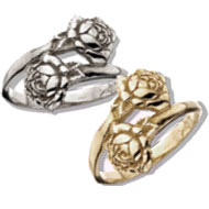 Alumnae Double Rose Ring