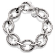 Sterling Silver Coil Bracelet with Tag