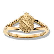 Loyalty Coat of Arms Ring