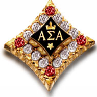 Crown Diamond Badge with *Ruby Points