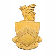 Plain Coat of Arms Button