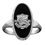 Imperial Onyx Crest Ring