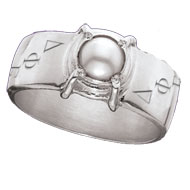 Cultured Pearl Sleek Ring