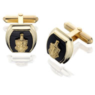 Barrel Onyx Cufflinks
