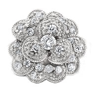 Carnation Brooch