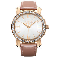 Jewleled Blush Watch