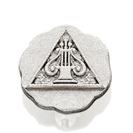 Candidate Pin - Silver Plate