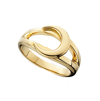 Loyalty Crescent Ring