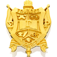 Large Crest Pin