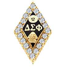 Crown Diamond Badge