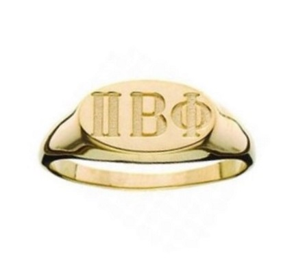 Oval Incised Ring