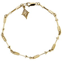 Arrow Bracelet with Crest