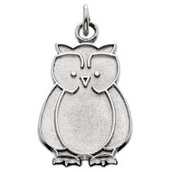 Whimsical Owl Charm