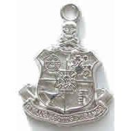Scarf Size Crest Charm