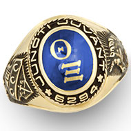 Official Ring w/ Encrusted *Jewel