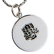 Round Charm with DPE Crest