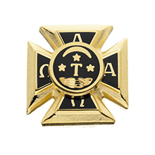 Small Plain Badge