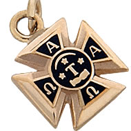 Badge-Shaped Pendant