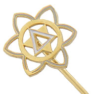 Golden Circle Stickpin