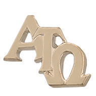Monogram Recognition Pin