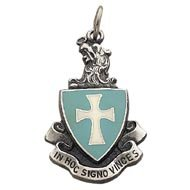 hjgreek sigma chi accessories enameled sterling fob