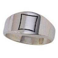 Sterling Silver Brotherhood Ring