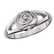 Whimsical Rose Ring