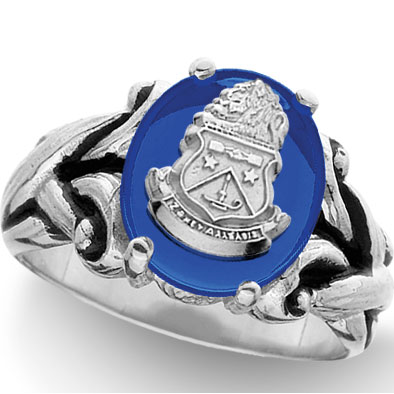 Hjgreek Alpha Delta Pi Jewelry Rings
