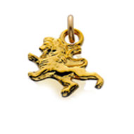 #29 Golden Lion Dangle