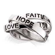 Faith, Hope & Love Ring
